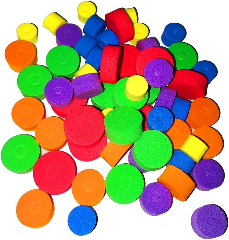ZH Multicolored Denver Mall Round Stitch Stoppers 3 φ Needles 2 Purchase