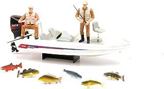 New Ray Wild Hunting Boat Fishing Playset