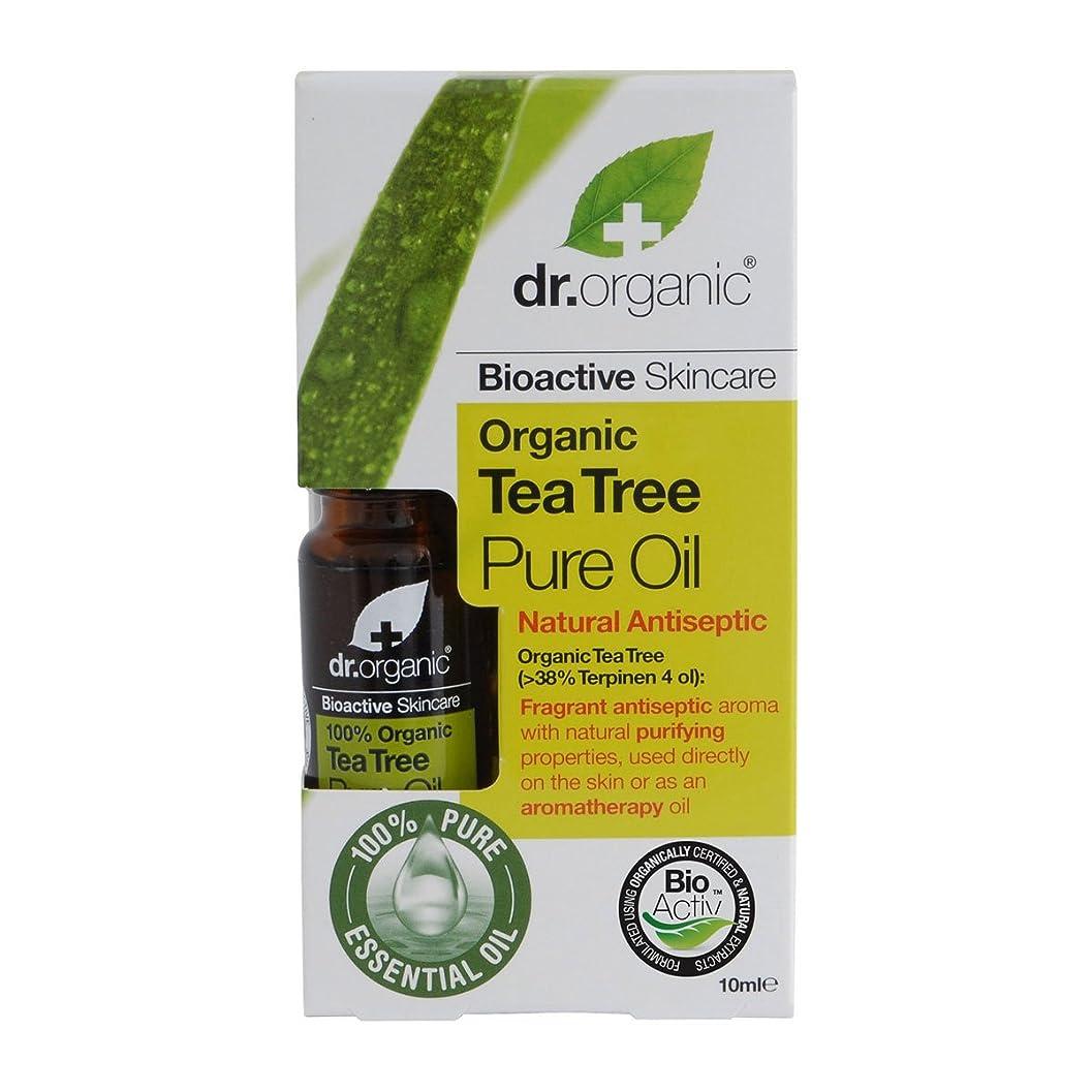 ピークソフトウェアオデュッセウスDr.organic Organic Tea Tree Pure Oil 10ml [並行輸入品]