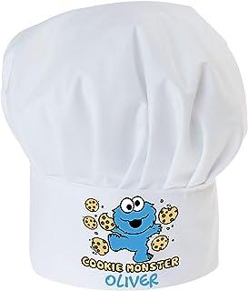 2832 Taille Unique Bleu Small Foot by Legler- Bonnet Monstre-Frisson Unisex-Child