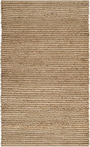 Safavieh Cape Cod Collection CAP355A Handmade Braided Jute Accent Rug, 2' x 3', Natural