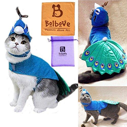 BroBear Pet Peacock Costume