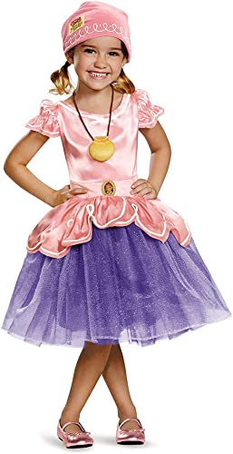 Disguise 85596L Izzy Tutu Deluxe Costume, Large (4-6x) by Disguise