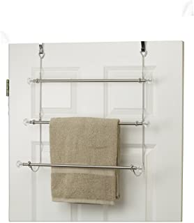 Home Basics Over The Over The Door Towel Holder CHR