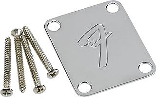 Fender F Neckplate Chrome
