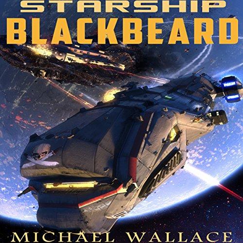 Starship Blackbeard audiobook cover art