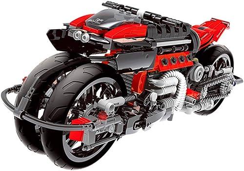 Yyz Rennserie Kreatives Modell Motorrad kompatibel mit Lego Montage Rechtschreibpuzzle Geb e blockiert Kinderspielzeug Geburtstagsgeschenk
