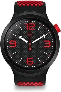 Swatch Reloj Analógico para Hombre de Cuarzo con Correa en