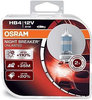 Osram - Night Breaker Unlimited 9006 HB4 Bulbs 51W (Pair)
