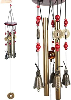 per Esterni e Decorazioni per la casa Campane con Gancio a Forma di S Symphonyw Sonaglio a Vento da Giardino Tubi in Metallo