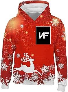 Artist_NF Novelty Kids Boys Girls Big Pockets Hoodies Pullover Hooded Sweatshirt