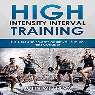 Introduction to HIIT (High Intensity Interval Training) audiobook cover art