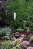 Ivyline Premium - Torcia da Giardino in Acciaio Inox, 150 cm, Confezione da 12