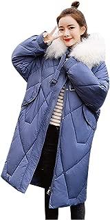 Womens Hooded Winter Warm Fleece Coats Faux Fur Jackets with Pockets Parka Coat Thicken Outwear Jacket