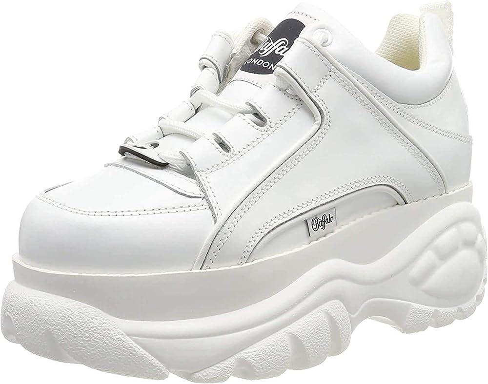 Buffalo london scarpe sneakers per donna in pelle 1533095