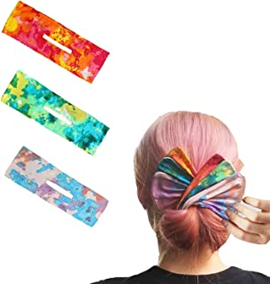 2021 Elegant Deft Bun for Hair, Magic Donut Hair Bun Maker,French Twist Hair Tool to roll a Bun, Twist a Bun's hair band (...