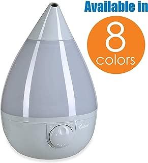 Crane Drop Ultrasonic Cool Mist Humidifier, Filter Free, 1 Gallon, 24 Hour Run Time,..