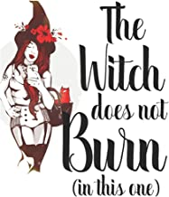 The Witch does not Burn (in this one): Blank Lined Feminist Journal For Women to Write In, Fairy Tale, Folkore Mythology Lovers, Poetry, Feminist ... (The Princess Saves Herself In this One)