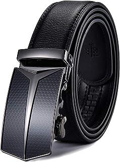 Hombre Cinturón-Cuero Automática Cinturón De Hombre 35MM-Tamaño Ajuste