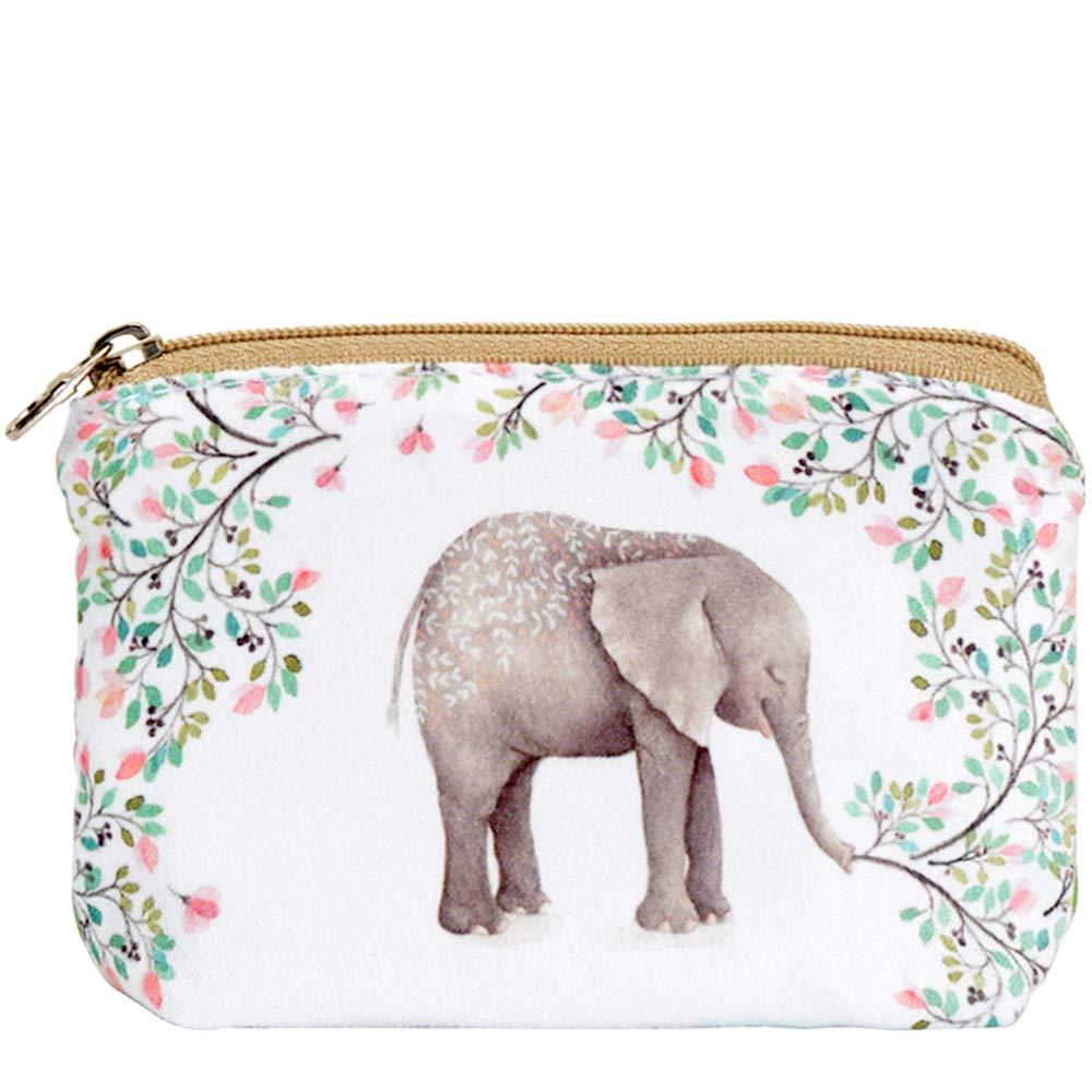 Fashion Wallet Change Holder Elephant