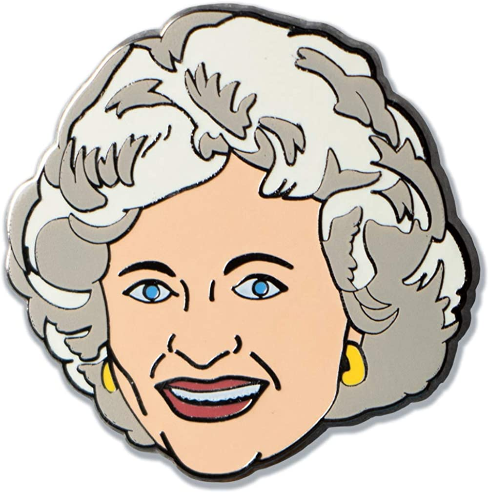 Ata-Boy Golden Girls Rose Officially Pin New arrival Licensed and Rapid rise Keychain