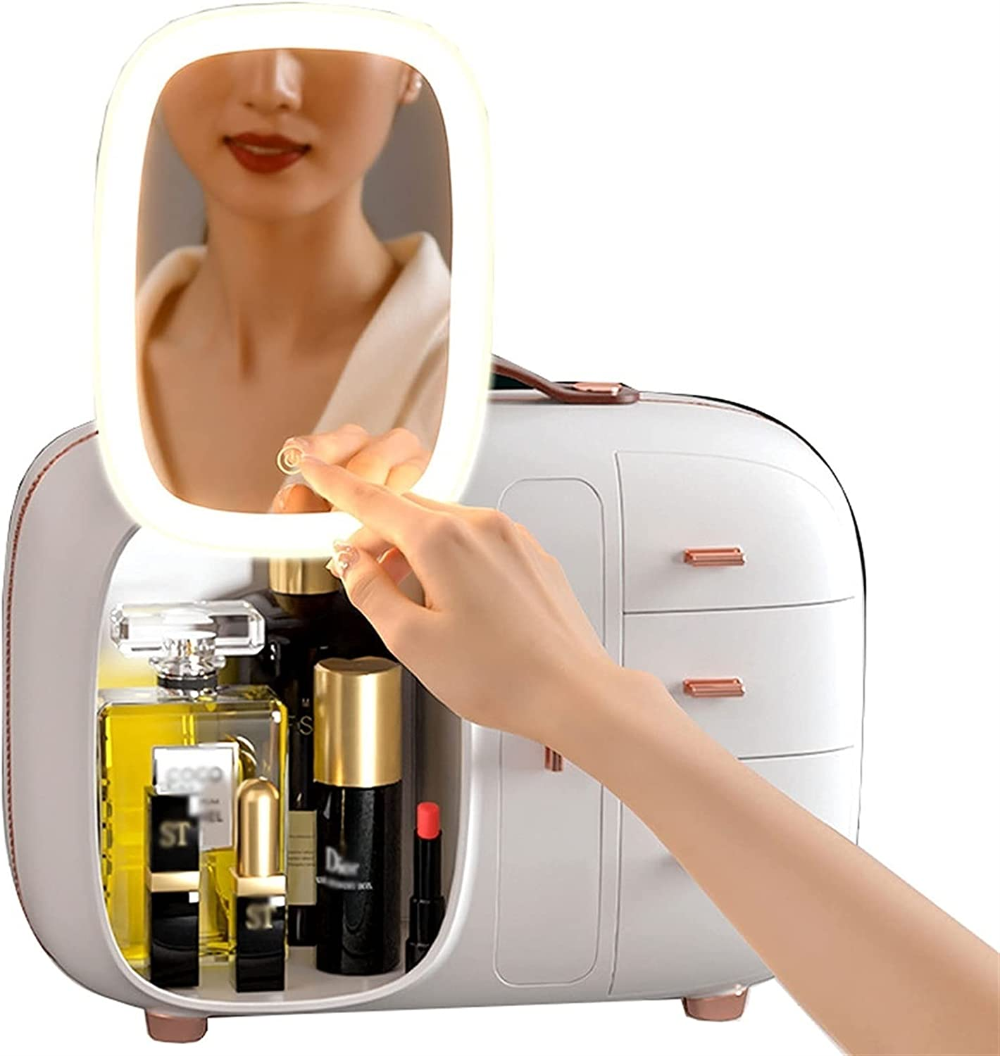 YXYH Popularity Makeup Organizer Adjustable Cosmetic Display Storage Case Directly managed store