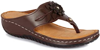 TWIN TOES Women's   Ladies   Female's   Girls Casual Wear Regular Flat Sandals