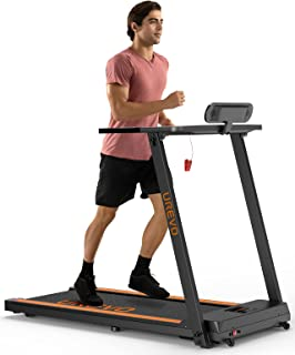 UREVO Treadmills for Home, Max 3.0 HP Folding Treadmills for Running and Walking Jogging Exercise with 12 Preset Programs,...
