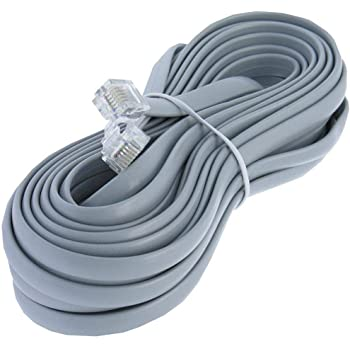 RJ12 6PIN DATA CABLE FOR POWERCAB /& THROTTLES UNIT