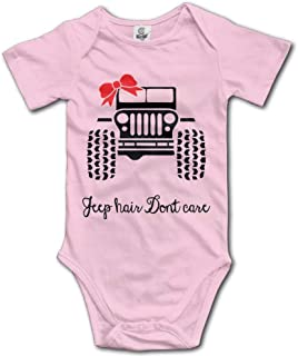 Jeep Girl Baby Bodysuits