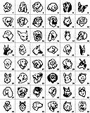 Anhänger fürs Halsband Knochen: mit Motiv Hunde (48 versch. Rassebilder) + Wunschtext wählbar! zweiseitig personalisierbar - 3