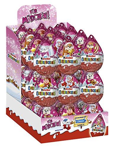 1er Weihnachts-Anhänger Rosa, 36er Pack (36 x 20 g)