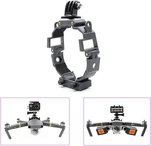 Multifunción soporte fijo para DJI Mavic Pro cámara y luz LED fija soporte accesorios