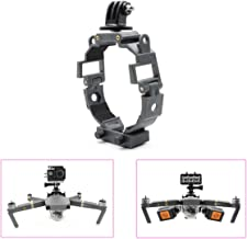 STARTRC Camera Gimbal Mult-function Fill Light Holder Mount Bracket 360-degree Rotatable Action Panorama Camera for DJI Mavic Pro Platinum Drone