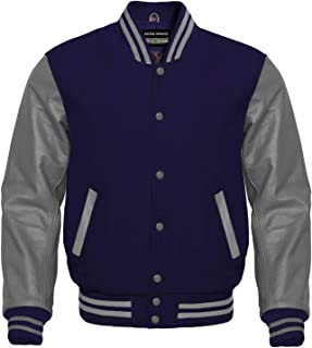 Best blue and gray letterman jacket Reviews