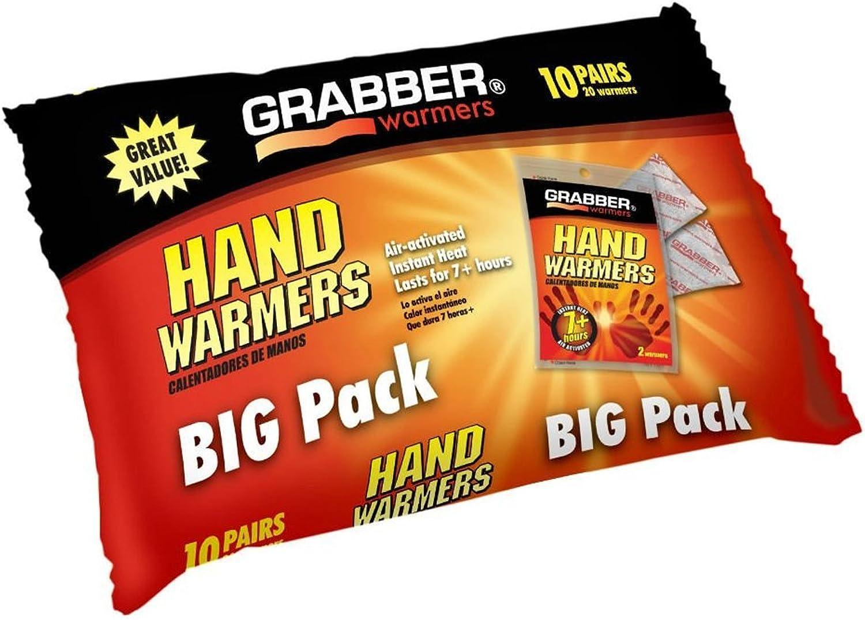 Grabber Hand Warmers 7 7 7 Plus Hr 10 Pair by GRABBER WARMERS B00GYAXL1K  Jahresendverkauf 9bb948