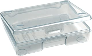 RAACO 118682 Caja organizadora transparente de bolsillos