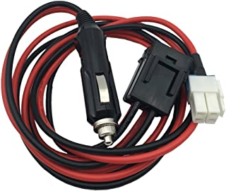 DONG 1.5M 4 pins Short Wave Car Charger Cigarette Light Power Supply Cord Cable for Yaesu FT-450 FT-991 Kenwood TS-480 ICOM IC-7100 IC-7600 NO COPPE 2 Way Radio