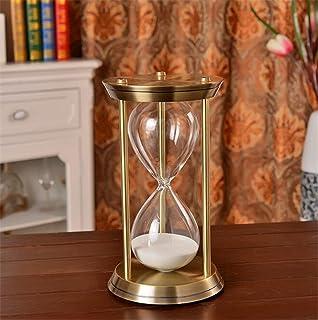 Longless Vintage metal viejo reloj de arena decoración Casamientos Cumpleaños habitación modelo soft regalo regalo creativo