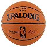 Spalding Palla da Basket NBA Gameball Rep.sz.7,(73-361Z), Arancione (Orange/Schwarz), 7...