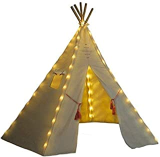 Nature`s Blossom Fairy Lights for Kids Teepee Tents, Battery Operated. Set of 5 LED Strings. Universal Design Fits Most Ki...