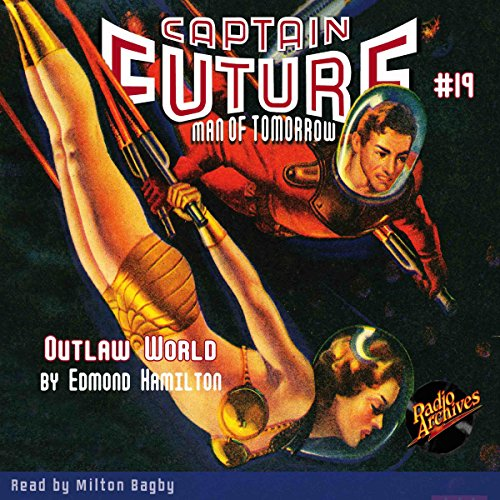Captain Future #19 audiobook cover art