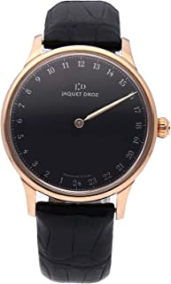 Jaquet Droz Astrale Mechanical (Automatic) Black Dial Mens Watch J025033202 (Certified Pre-Owned)