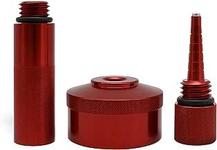 Yoursme Aluminum Extended Run Gas Cap Adapter, Mess Free Oil Change Funnel, Magnetic Oil Dipstick for Honda Generator EU2000i EU1000i EU3000i Handi