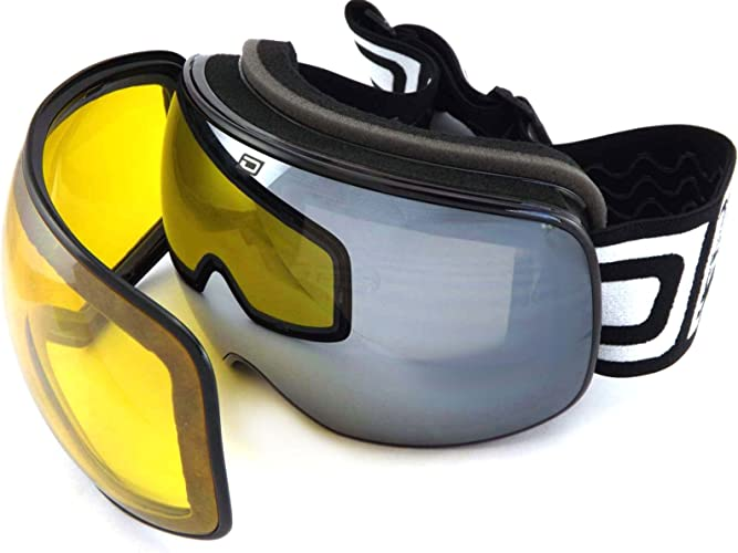 Dirty Dog Mutant 2.0 Snow Goggles - noir
