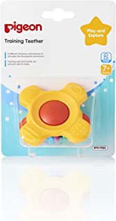 Pigeon Training Teether Step 2 [Red and Yellow, 13667], 4902508136679