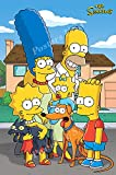 Posters USA The Simpsons TV Series Show Poster GLOSSY FINISH - TVS385 (24' x 36' (61cm x 91.5cm))