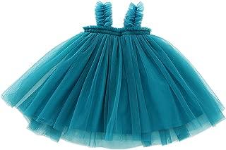 Baby Girls Toddler Tutu Dress Long Sleeve/Sleeveless Princess Infant Tulle Sundress