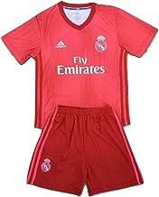 Nikol-Tamara 2018-2019 Real Madrid Champions League Youths Soccer Jersey & Shorts