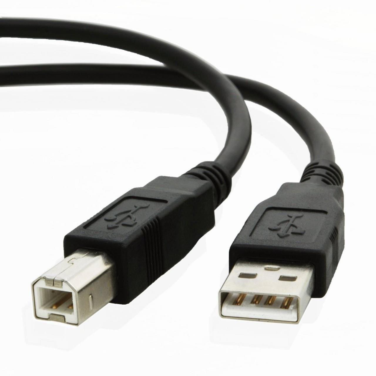 NiceTQ USB Cable Cord for Zebra ZP200 ZP450 ZP500 ZP505 Thermal Shipping Label Printer
